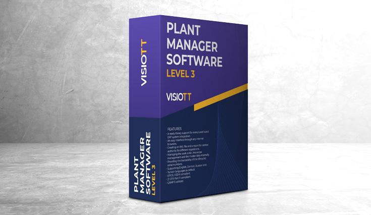 Plant Manager Software L3 Banner