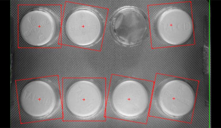 Vision Inspection Blister Inside a Carton