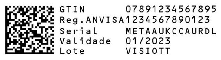 Brazil Data Matrix Example