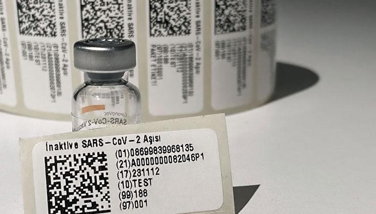 Covid-19 Data Matrix Labels