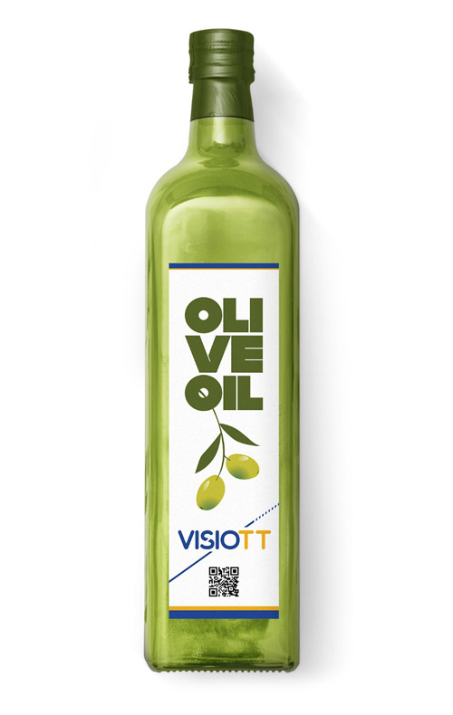 Olive Oil with Datamatrix