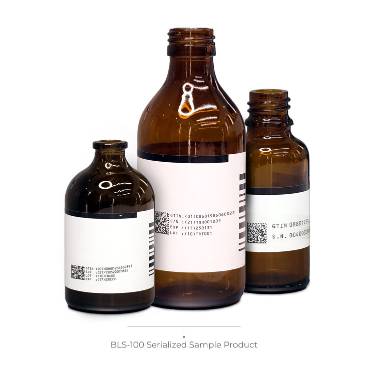 BLS-100 Serialized Sample Product